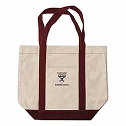 Harvard Business School Extra Large Embroidered Boat Bag