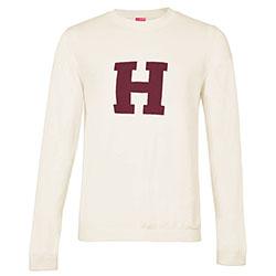 Harvard  Crew Applique Sweater