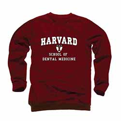 Harvard School of Dental Medicine Crew Sweatshirt