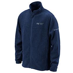 New! Columbia MIT Flanker Navy Men's Full Zip Flanker Jacket