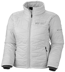 New! Columbia Women's Mighty Lite MIT Sea Salt Jacket