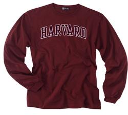 Versa Twill Harvard Maroon Long Sleeve T Shirt