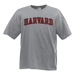 Harvard Grey 2 color T Shirt
