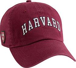 Harvard Maroon Hat w/ Veritas Shield on Side