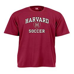 Moisture-Management Maroon Soccer T Shirt