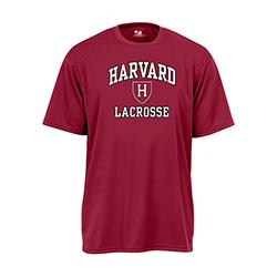 Moisture-Management Maroon Lacrosse T Shirt
