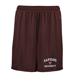 Harvard Maroon Performance Pocketed Shorts