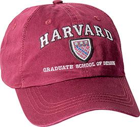Harvard School of Design Crimson Hat