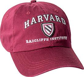 Harvard  Radcliffle Institute Crimson Hat