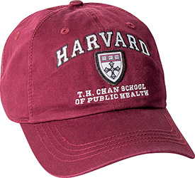 Harvard T. H, Chan School of Public Health Crimson Hat