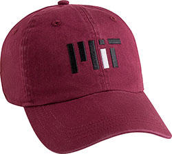 MIT Contemporary Maroon Hat