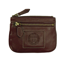 New! Harvard Maroon I.D and Coin Holder