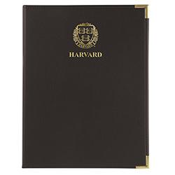 Classic Standard Harvard Veritas Black Pad Holder