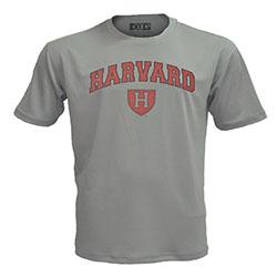 Harvard Athletic Shield Graphite Performance T Shirt