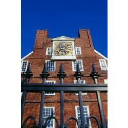 Massachusetts Hall Harvard #8144