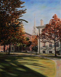 Memorial Church Pathways by Laura Tryon Jennings