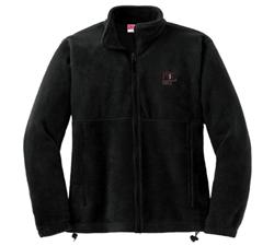 MIT Contemporary Black Fleece Full-Zip Jacket