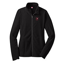 Women's MIT Contemporary Black Fleece Full-Zip  Jacket