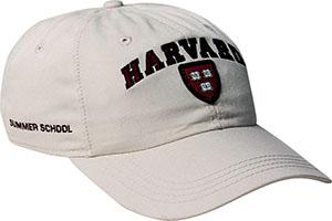 Harvard Summer School Bone Hat