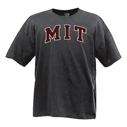 MIT Graphite 2 color T Shirt