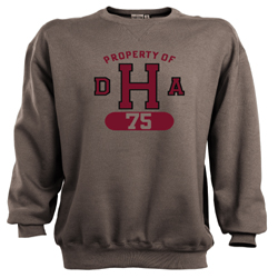 Property of DHA Class of 1975 Sweatshirt