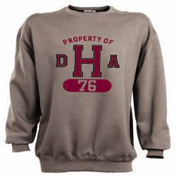 DHA Class of 1976 Gray Crew Sweatshirt