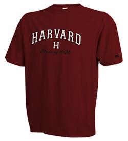 Harvard Class of 1976 Reunion Tee Shirt