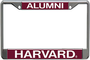 Harvard Alumni License Plate Holder
