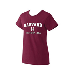 Class of 1996 Women's Maroon T Shirt