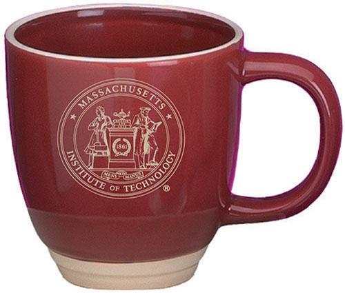 MIT Maroon/Almond Bistro Mug