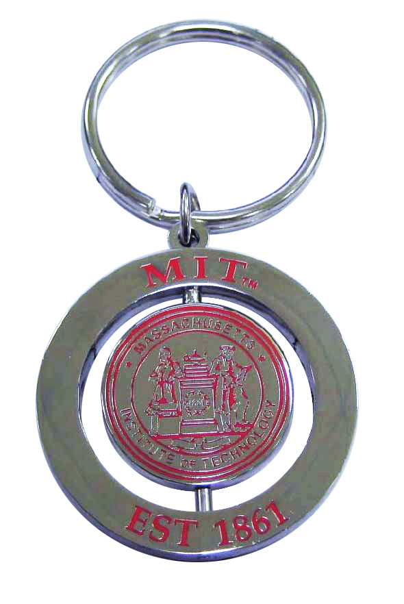 MIT Two Piece Spinner Key Chain