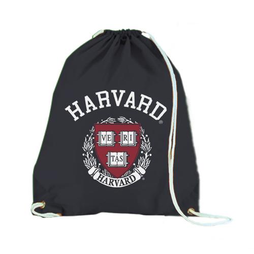 Nylon Harvard Black Back Sack