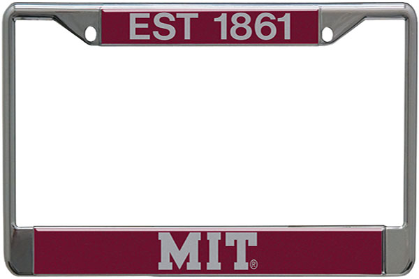 MIT  License Plate Holder
