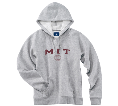 Women's Fit Grey MIT Hooded Sweatshirt