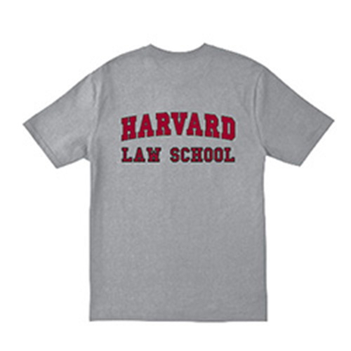Harvard Law School Shield Grey T Shirt