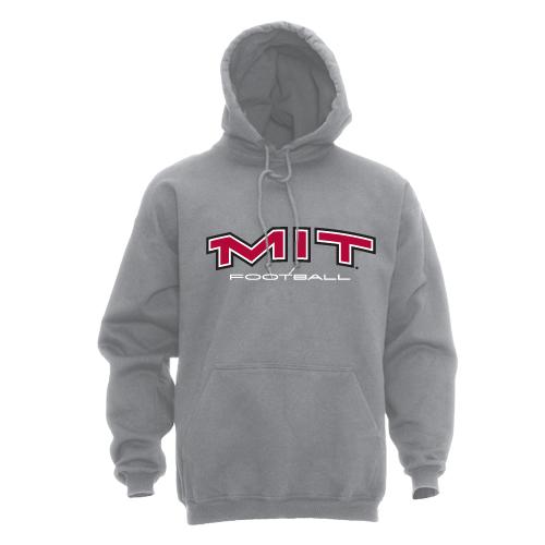 MIT Hooded Grey Football Sweatshirt