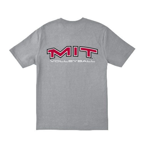 MIT Grey Volleyball T Shirt