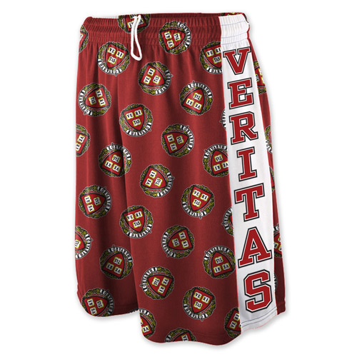 Maroon w/seal and Veritas Sublimated Shorts