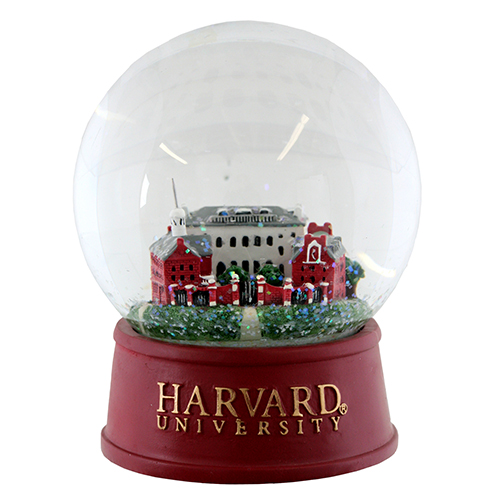 harvard johnston gate large snow globe - Large Christmas Snow Globes