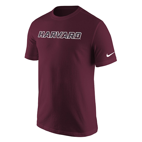 Nike Dri-Fit Maroon Harvard  Performance T Shirt