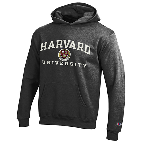 Youth Granite Harvard Hooded Versa Twill Sweatshirt