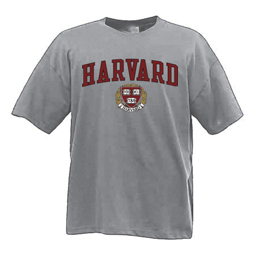 Harvard Grey 3-color Tee Shirt