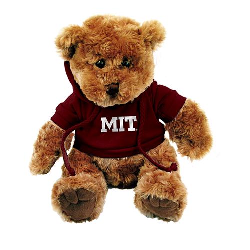 MIT 10  Teddy Bear w/MIT Sweatshirt