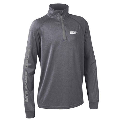 Under Armour Harvard Youth 1/4 zip Carbon Tech Tee