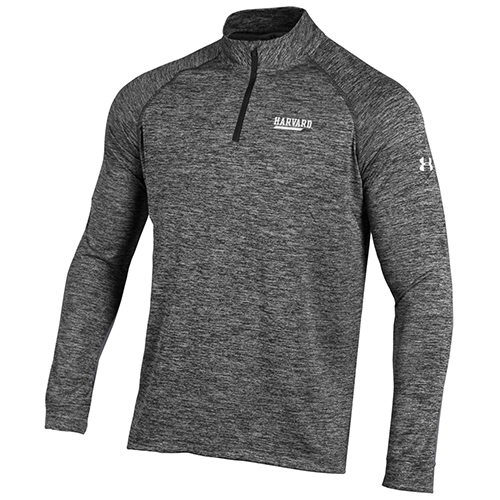 Under Armour Harvard 1/4 zip Granite Tech Tee