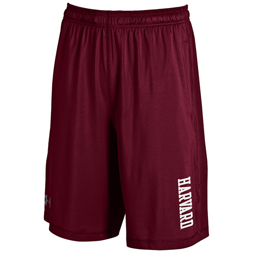 Under Armour Harvard Maroon Raid Shorts