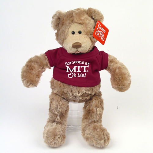 Wally Somebody At MIT Loves Me Teddy Bear