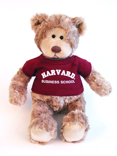 Wally Harvard Business School Teddy Bear by Gund