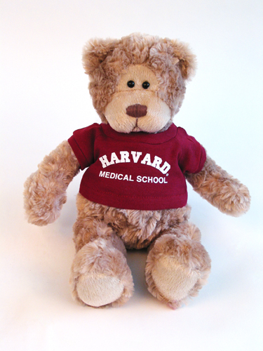 Wally Harvard Medical School Teddy Bear by Gund
