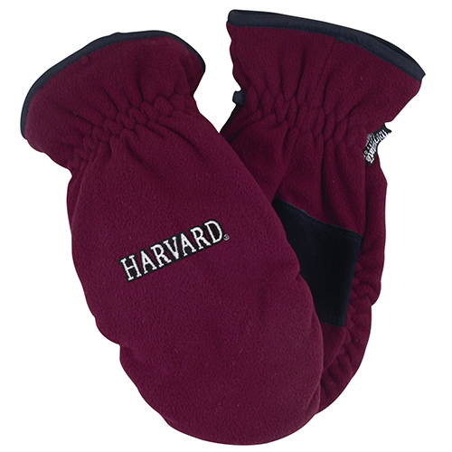 Harvard Maroon Thinsulate Mittens